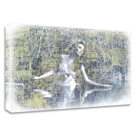 """""""Swan Lake"""" by GraphINC, Print on Canvas, Ready to Hang"""