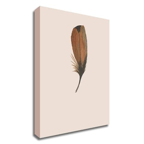 """""""Feather 08"""" by Incado, Print on Canvas, Ready to Hang"""