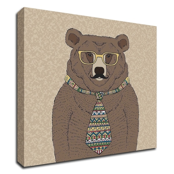 """""""Bear-man"""" by GraphINC, Print on Canvas, Ready to Hang"""