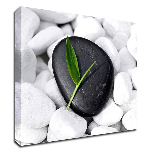 """Zen Stone"" by PhotoINC Studio, Print on Canvas, Ready to Hang"