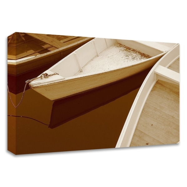 """""""Boats"""" by PhotoINC Studio, Print on Canvas, Ready to Hang"""