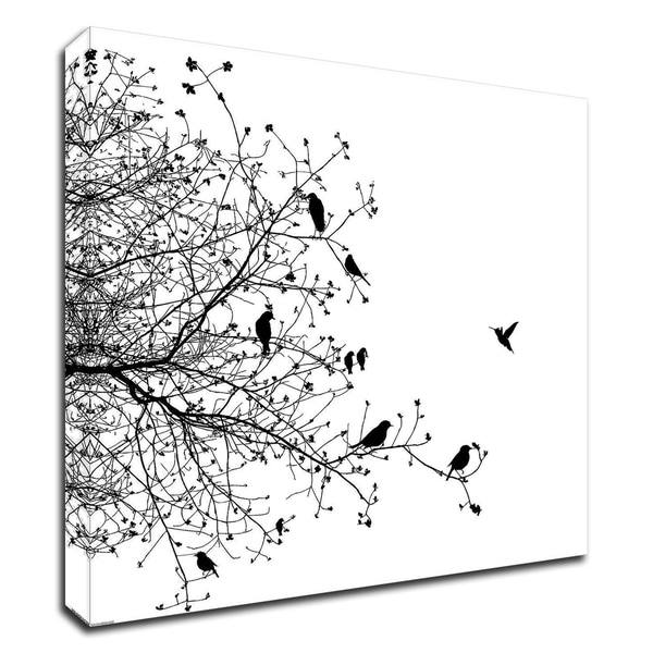 """""""Bird I"""" by GraphINC, Print on Canvas, Ready to Hang"""