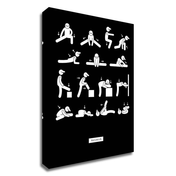"""""""Workout"""" by GraphINC, Print on Canvas, Ready to Hang"""