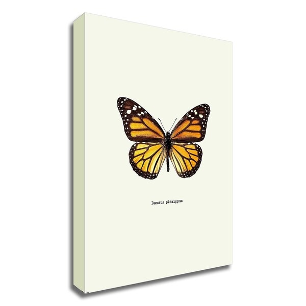 """""""Yellow Butterfly"""" by GraphINC, Print on Canvas, Ready to Hang"""