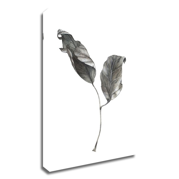 """""""Silver Leaf"""" by Incado, Print on Canvas, Ready to Hang"""