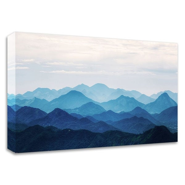 """Blue Mountains"" by PhotoINC Studio, Print on Canvas, Ready to Hang"