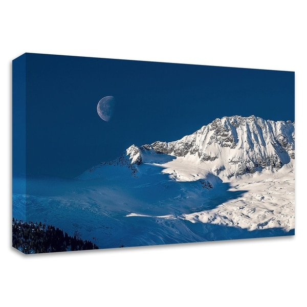 """""""Moon"""" by Vladimir Kostka, Print on Canvas, Ready to Hang"""