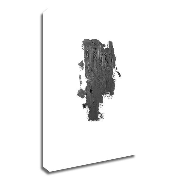 """Coal I"" by Incado, Print on Canvas, Ready to Hang"