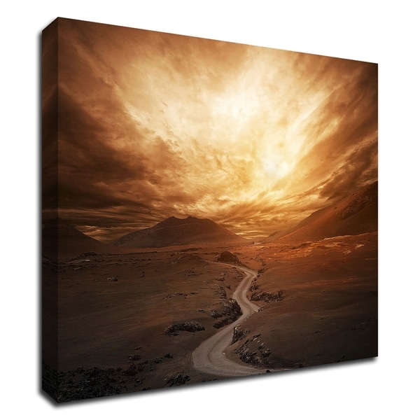 """Sunset"" by PhotoINC Studio, Print on Canvas, Ready to Hang"