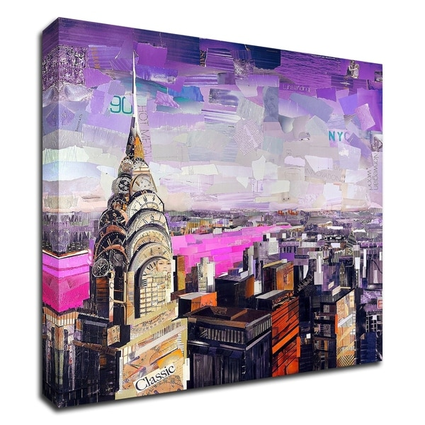 """Chrysler View"" by James Grey, Print on Canvas, Ready to Hang"