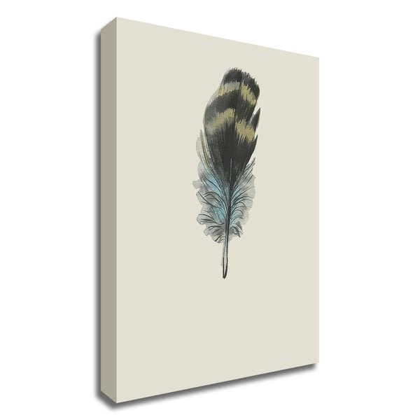 """""""Feather 03"""" by Incado, Print on Canvas, Ready to Hang"""