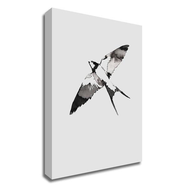 """Flying Bird III"" by Incado, Print on Canvas, Ready to Hang"
