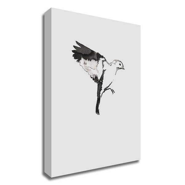 """""""Flying Bird I"""" by Incado, Print on Canvas, Ready to Hang"""