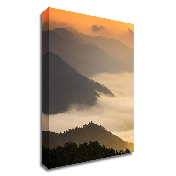 """""""Dusty morning"""" by PhotoINC Studio, Print on Canvas, Ready to Hang"""