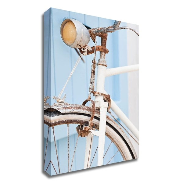 """""""Old Bike"""" by PhotoINC Studio, Print on Canvas, Ready to Hang"""