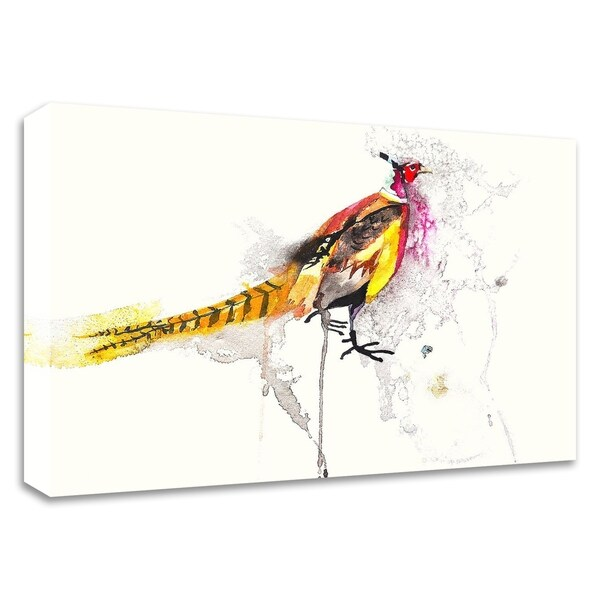 """""""Pheasant"""" by Karin Johannesson, Print on Canvas, Ready to Hang"""