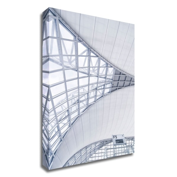 """Airport"" by PhotoINC Studio, Print on Canvas, Ready to Hang"