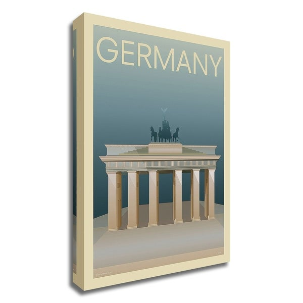 """Germany"" by Incado, Print on Canvas, Ready to Hang"