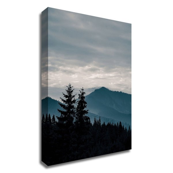 """""""Blue Mountains VII"""" by PhotoINC Studio, Print on Canvas, Ready to Hang"""