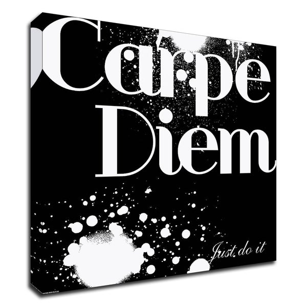 """Carpe Diem"" by GraphINC, Print on Canvas, Ready to Hang"