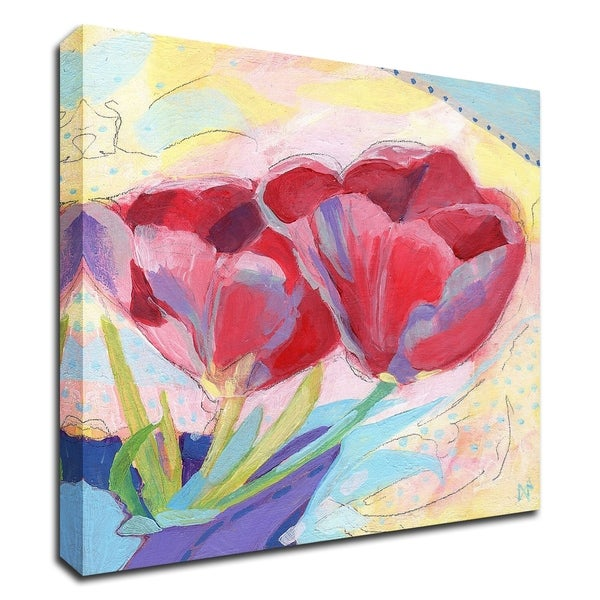 """""""Tulips No. 2"""" by Ann Thompson Nemcosky, Print on Canvas, Ready to Hang"""