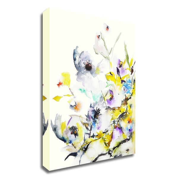 """""""Summer Garden V"""" by Karin Johannesson, Print on Canvas, Ready to Hang"""