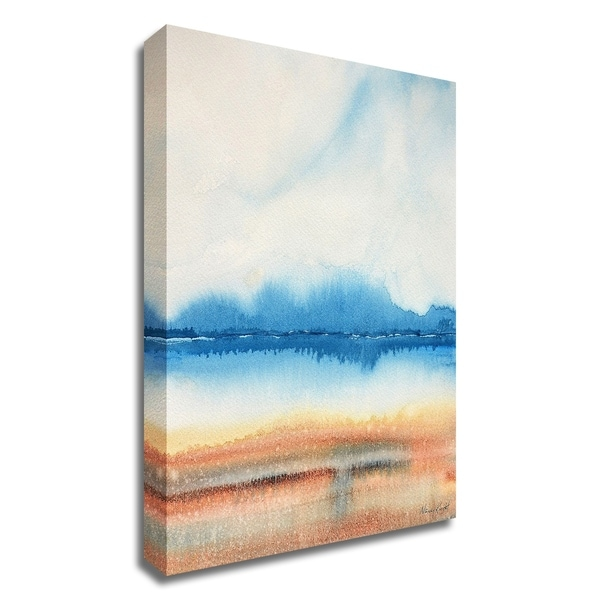 """""""Beachscape"""" by Nancy Knight, Print on Canvas, Ready to Hang"""
