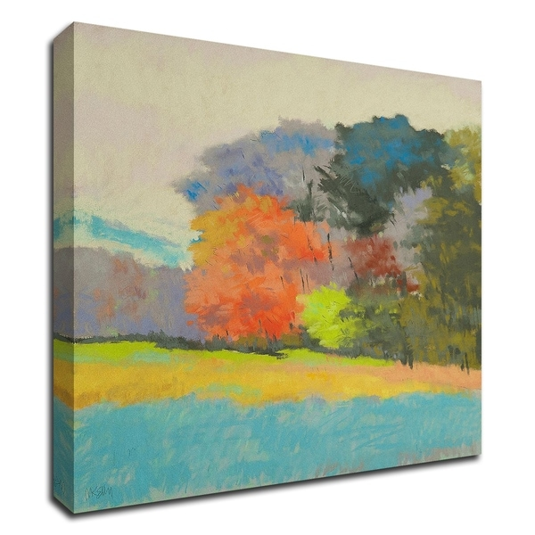 """""""FoxFarm Woods"""" by Mike Kelly, Print on Canvas, Ready to Hang"""