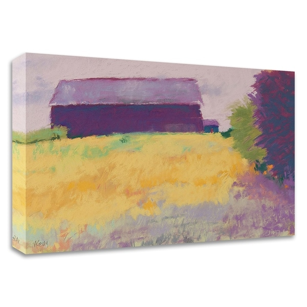 """""""Wheat Field"""" by Mike Kelly, Print on Canvas, Ready to Hang"""