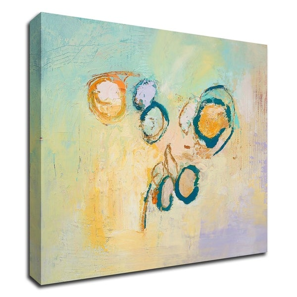 """""""Sky Circles"""" by Tracy Lynn Pristas, Print on Canvas, Ready to Hang"""