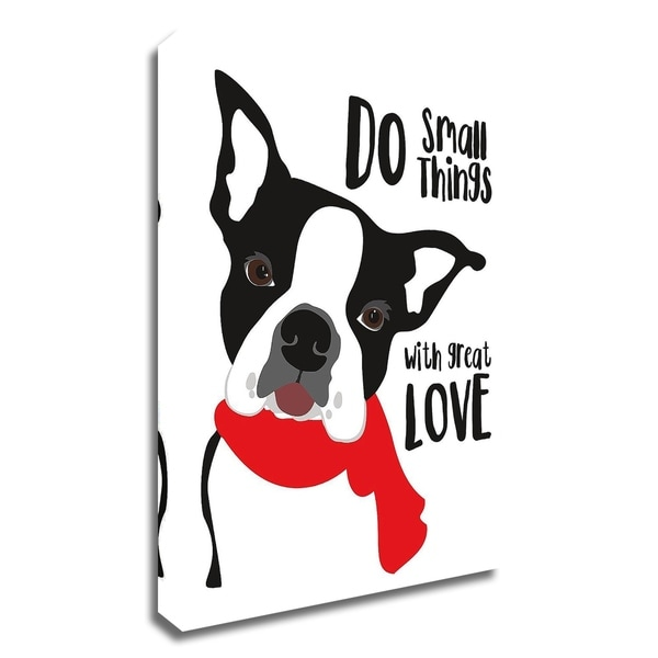 """Do Small Things with Great Love"" by Ginger Oliphant, Print on Canvas, Ready to Hang"
