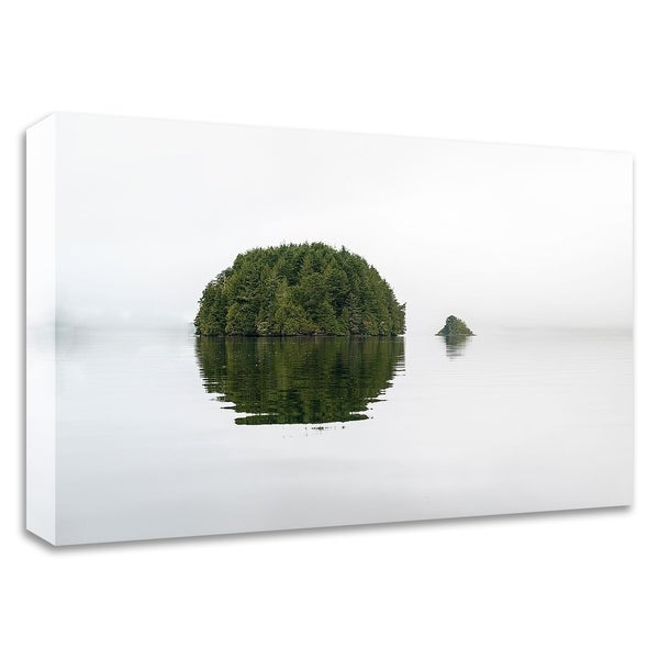 """Islands"" by Vladimir Kostka, Print on Canvas, Ready to Hang"