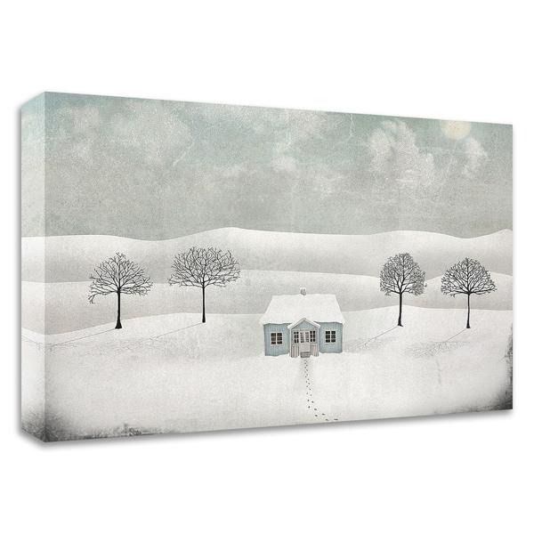 """Winterland"" by Maja Lindberg, Print on Canvas, Ready to Hang"