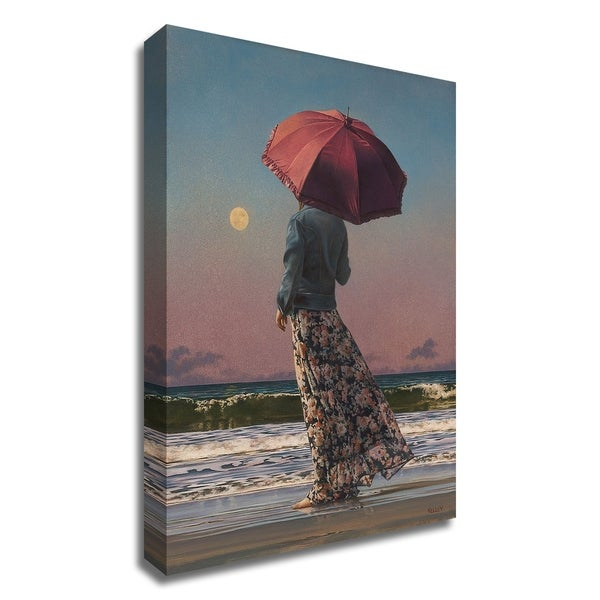 """Romancing The Moon"" by Paul Kelley, Print on Canvas, Ready to Hang"