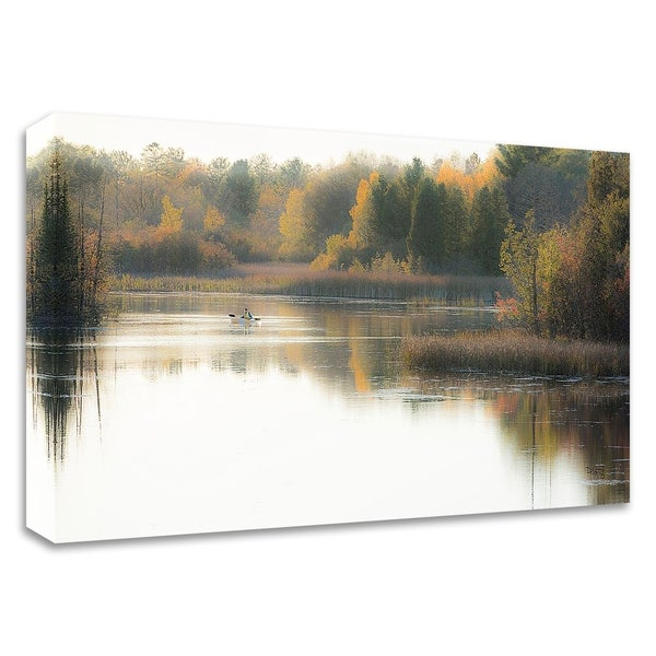 """""""Calming Waters"""" by Matthew Platz, Print on Canvas, Ready to Hang"""