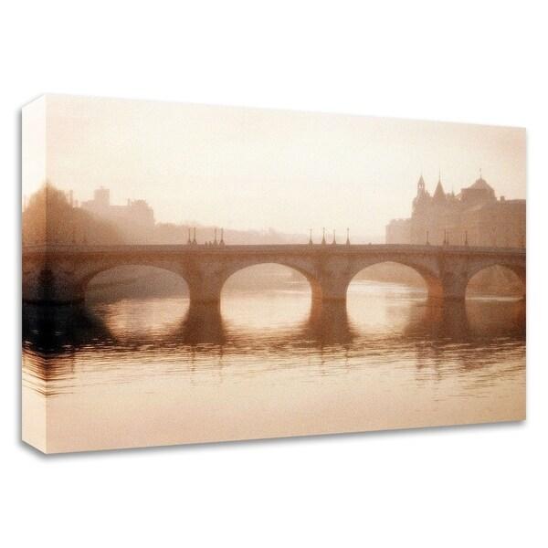 """Pont Neuf, Paris"" by Alan Klug, Print on Canvas, Ready to Hang"