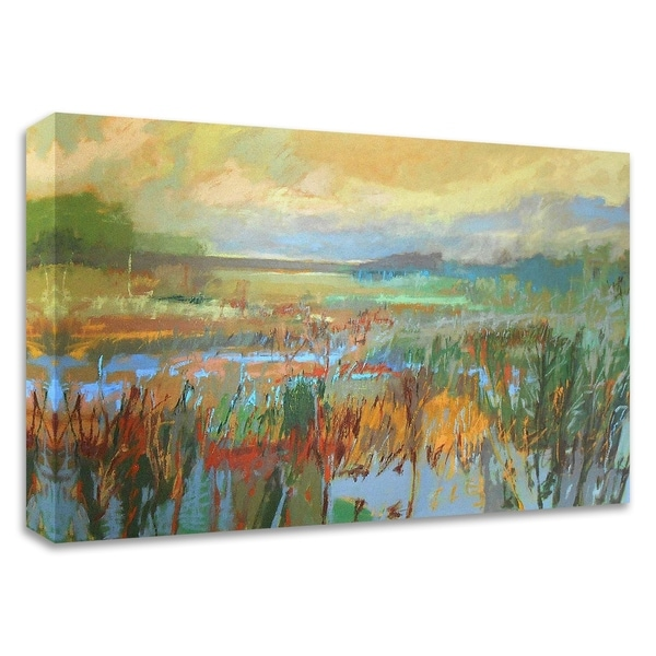 """""""Marsh in May"""" by Jane Schmidt, Print on Canvas, Ready to Hang"""
