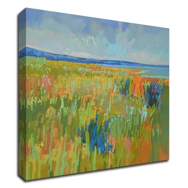 """""""Lake Shore II"""" by Jane Schmidt, Print on Canvas, Ready to Hang"""