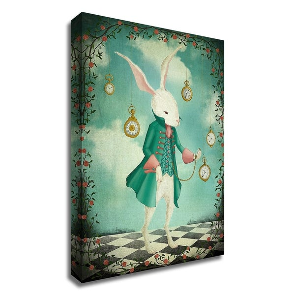 """""""The WhiteRabbit"""" by Maja Lindberg, Print on Canvas, Ready to Hang"""