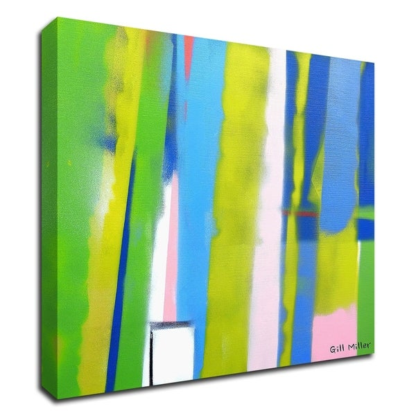"""""""Urban Summer 4"""" by Gill Miller, Print on Canvas, Ready to Hang"""