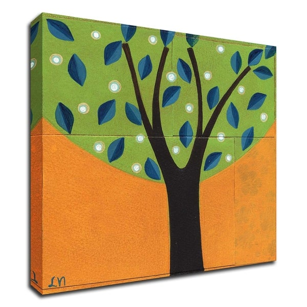 """""""Tree / 157"""" by Laura Nugent, Print on Canvas, Ready to Hang"""