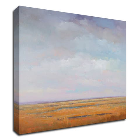 """""""Midday Marsh"""" by William McCarthy, Print on Canvas, Ready to Hang"""
