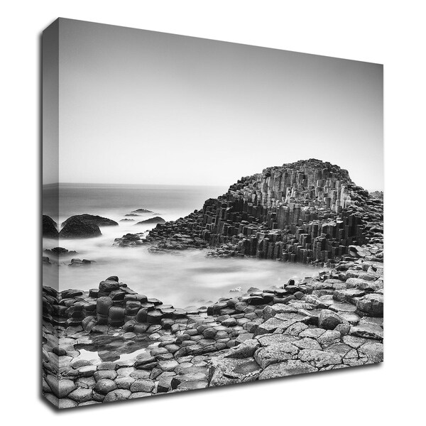 """""""The Giant's Causeway"""" by Margaret Morrissey, Print on Canvas, Ready to Hang"""