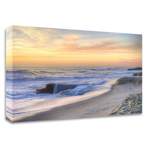 """""""La Jolla Sunset"""" by Dean Mayo, Print on Canvas, Ready to Hang"""