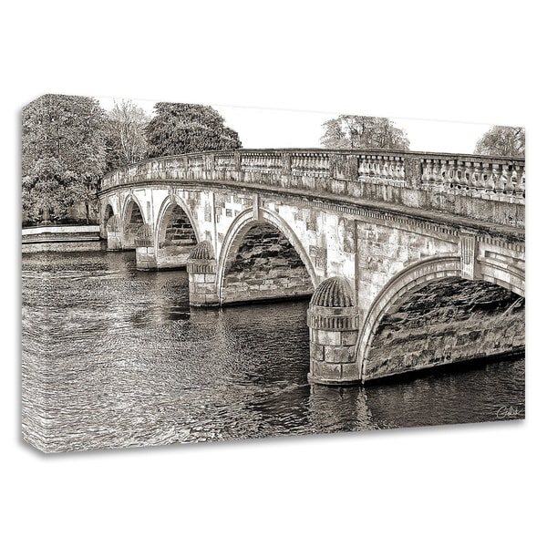 """""""Henley-on-Thames"""" by Golie Miamee, Print on Canvas, Ready to Hang"""