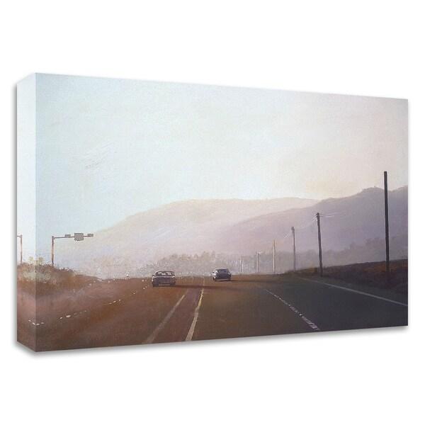 """California Road Chronicles 61"" by Relja Penezic, Print on Canvas, Ready to Hang"