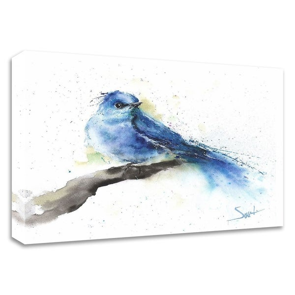 """""""Bluebird"""" by Eric Sweet, Print on Canvas, Ready to Hang"""