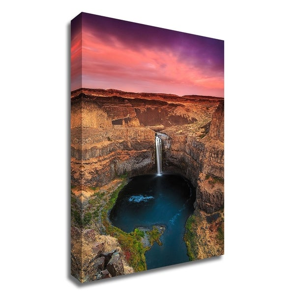 """""""Palouse Falls"""" by Shawn/Corinne Severn, Print on Canvas, Ready to Hang"""
