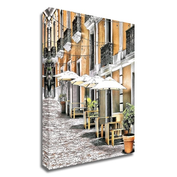 """""""Old San Juan Siesta"""" by Golie Miamee, Print on Canvas, Ready to Hang"""