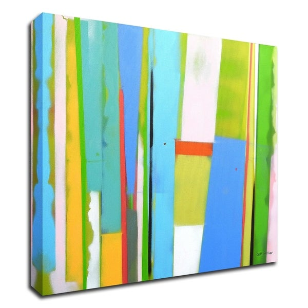 """""""Urban Summer 9"""" by Gill Miller, Print on Canvas, Ready to Hang"""